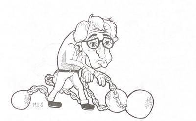 Woody Allen Cartoon