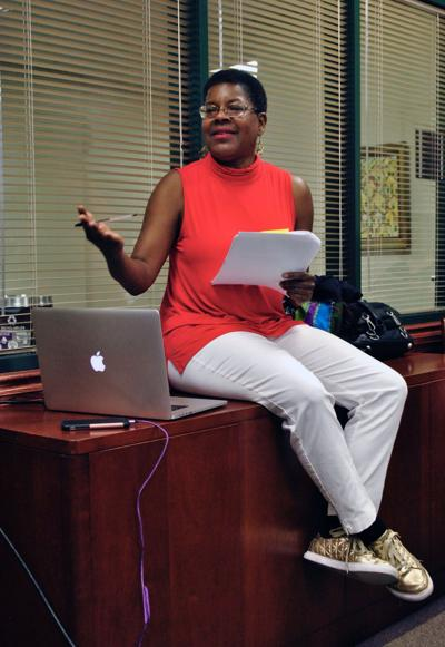 Aware-winning author visits UCA campus