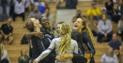 Volleyball goes undefeated in D.C. at Georgetown Invitational