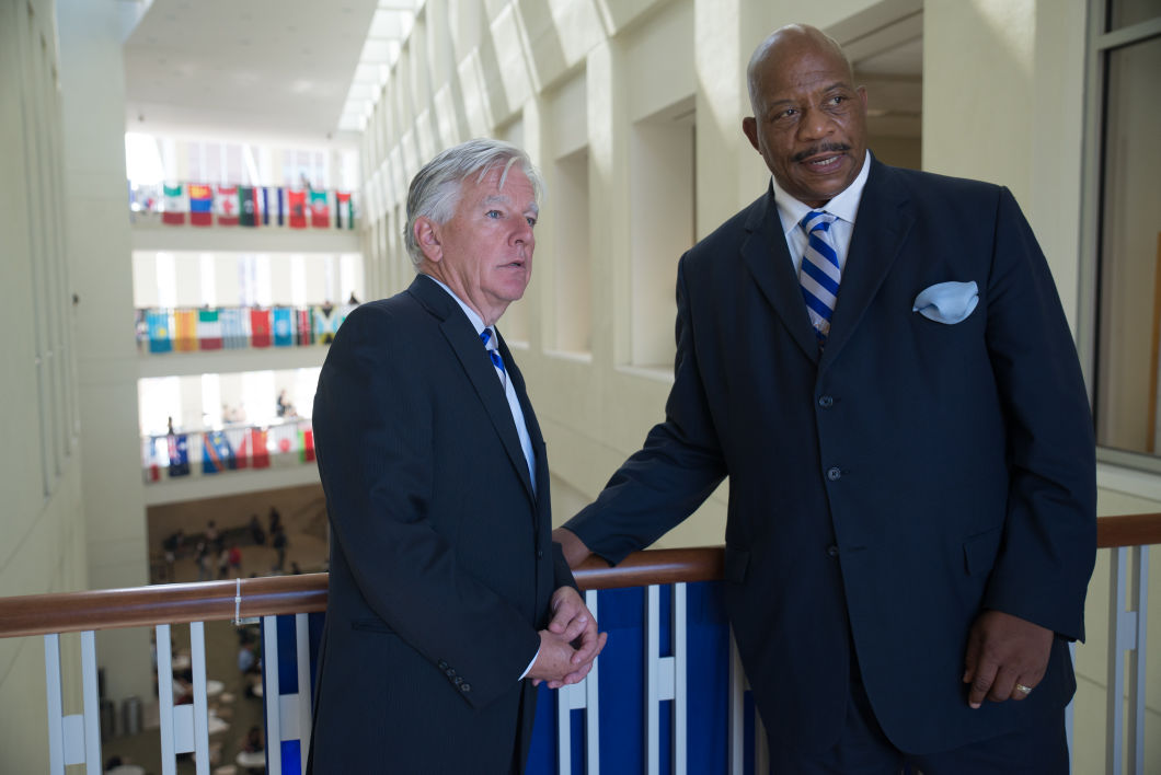 (Pic)_Marty Meehan and Chancellor Motley