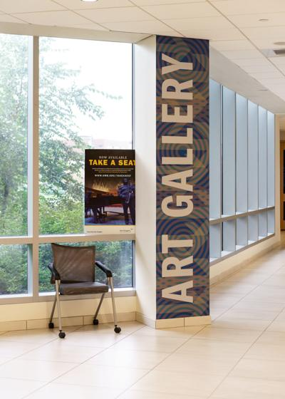 A look at the University Hall Gallery