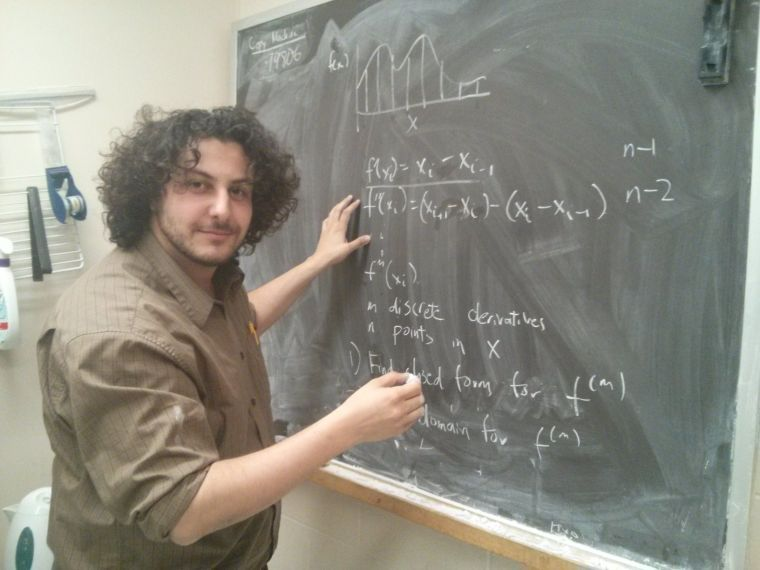 Joseph Paul Cohen, a UMass Boston PhD in the Department of Computer Science