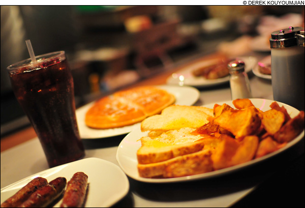 Nothing is yummier than a midnight breakfast, but which diner is it going to be?