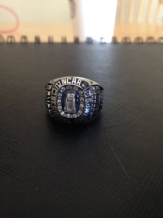 The ring from the front