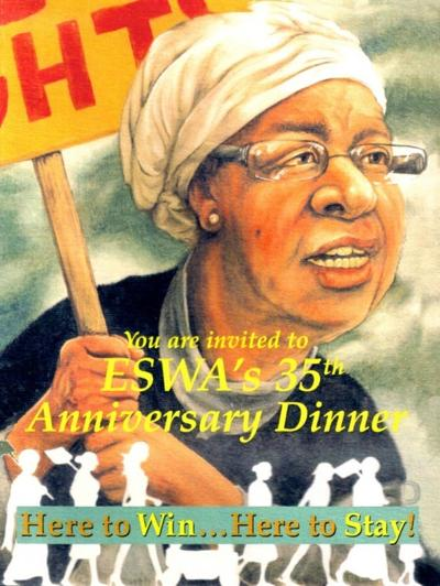 A flyer form ESWA's 35th anniversary.