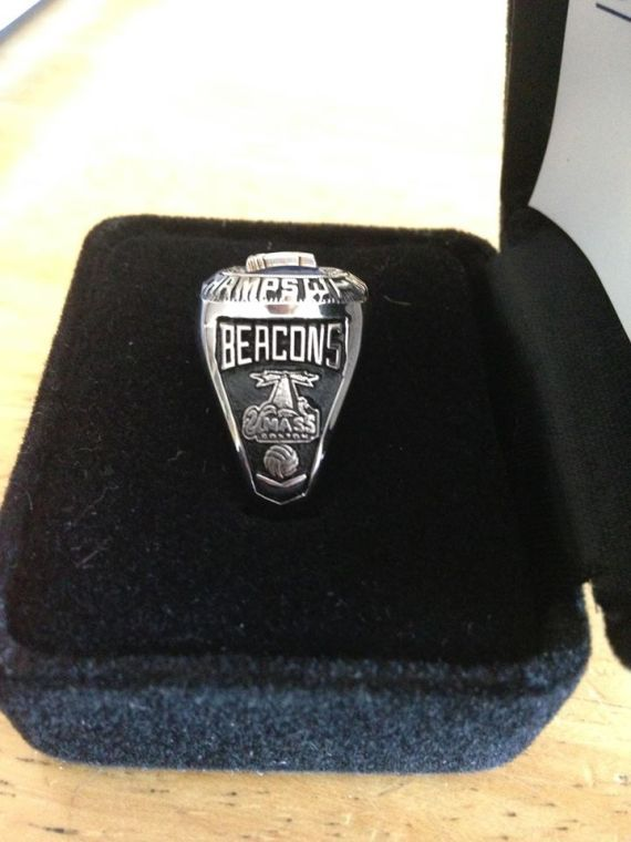 The Beacons went undefeated in the conference this year on the way to their fifth straight title