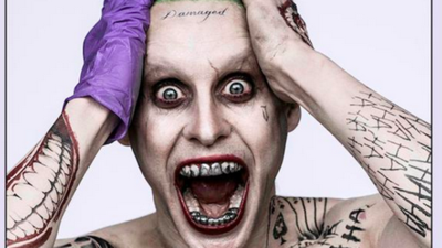 The Joker for upcoming movie 'Suicide Squad' is released