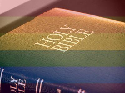 versus about gay Bible