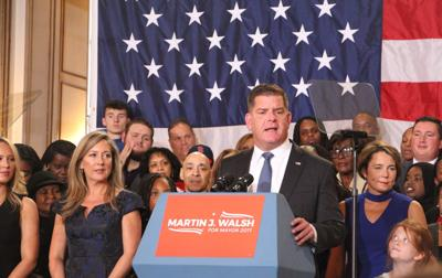 Marty Walsh is Mayor