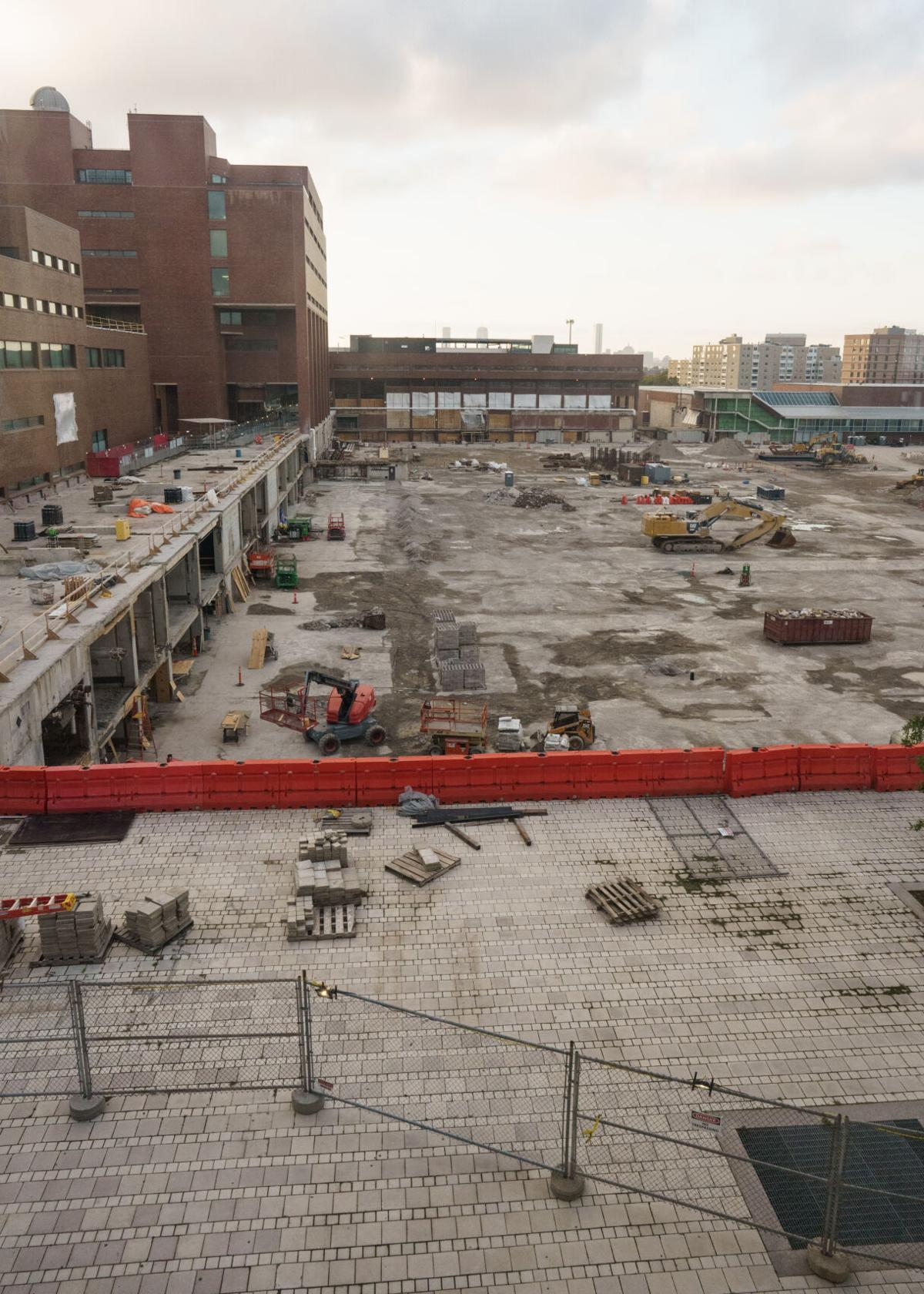 Update on campus construction (1 of 2)