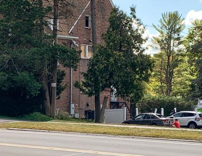 UMass Amherst students protest fraternity Theta Chi