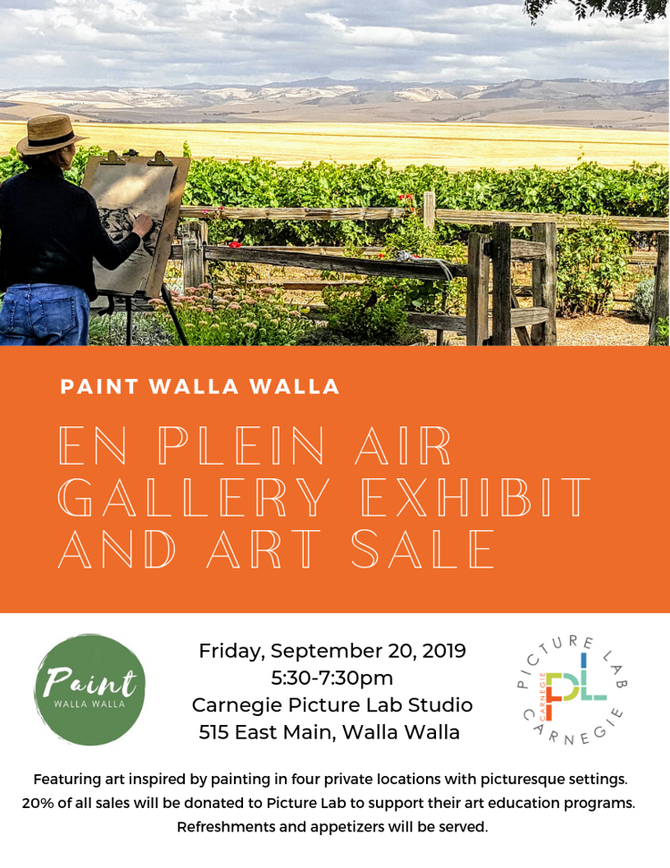 Paint Walla Walla Art Show and Sale