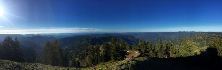 Hiking the Blues - Oregon Butte