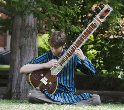 190905 Sitar and Tabla 9-6 J.J. Gregg on sitar.jpg