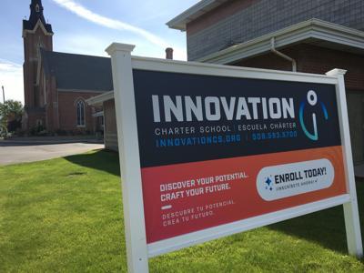 Innovation Charter School sign