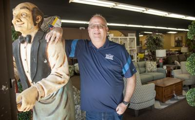 Brian Gaines of Wall 2 Wall furniture