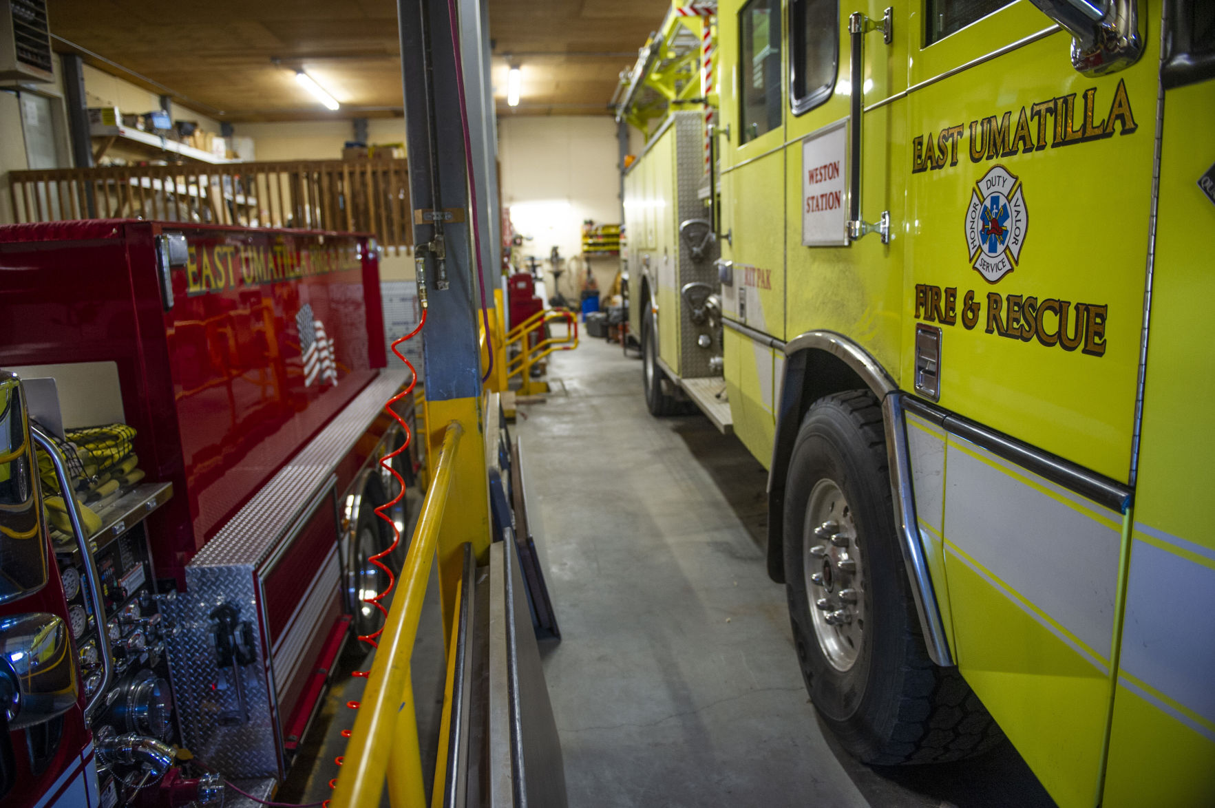 East Umatilla Fire & Rescue District in Weston intends to ask state lawmakers for a new station