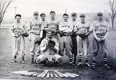 Baseball team, 1948