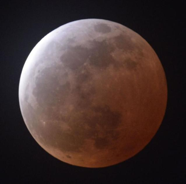 Lunar eclipse coming Sunday night