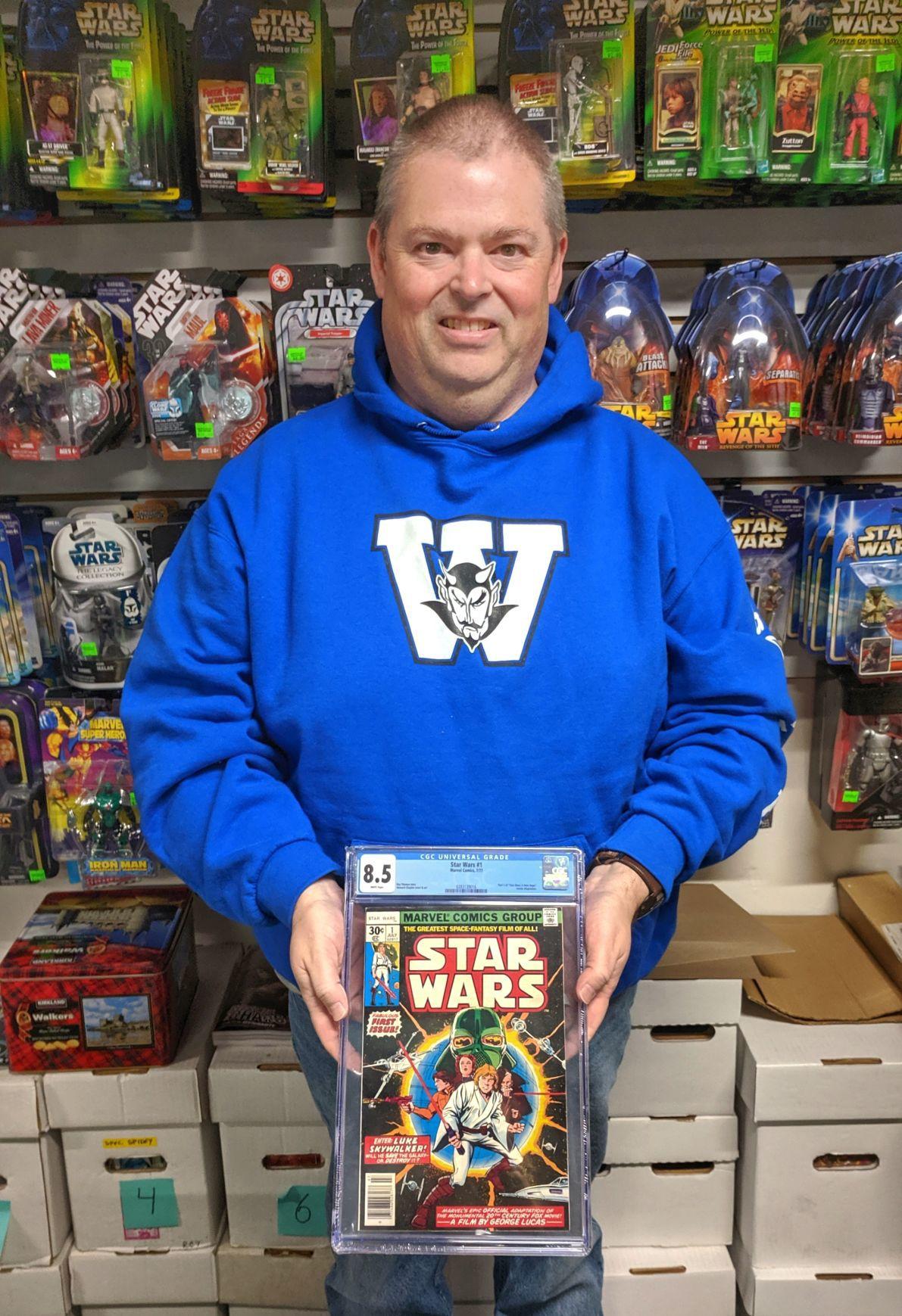 Jeff Watson Star Wars fan