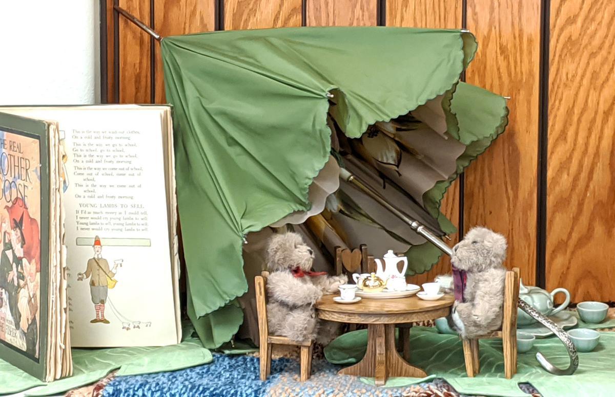 Teddy Bear Tea display Judy Kessler