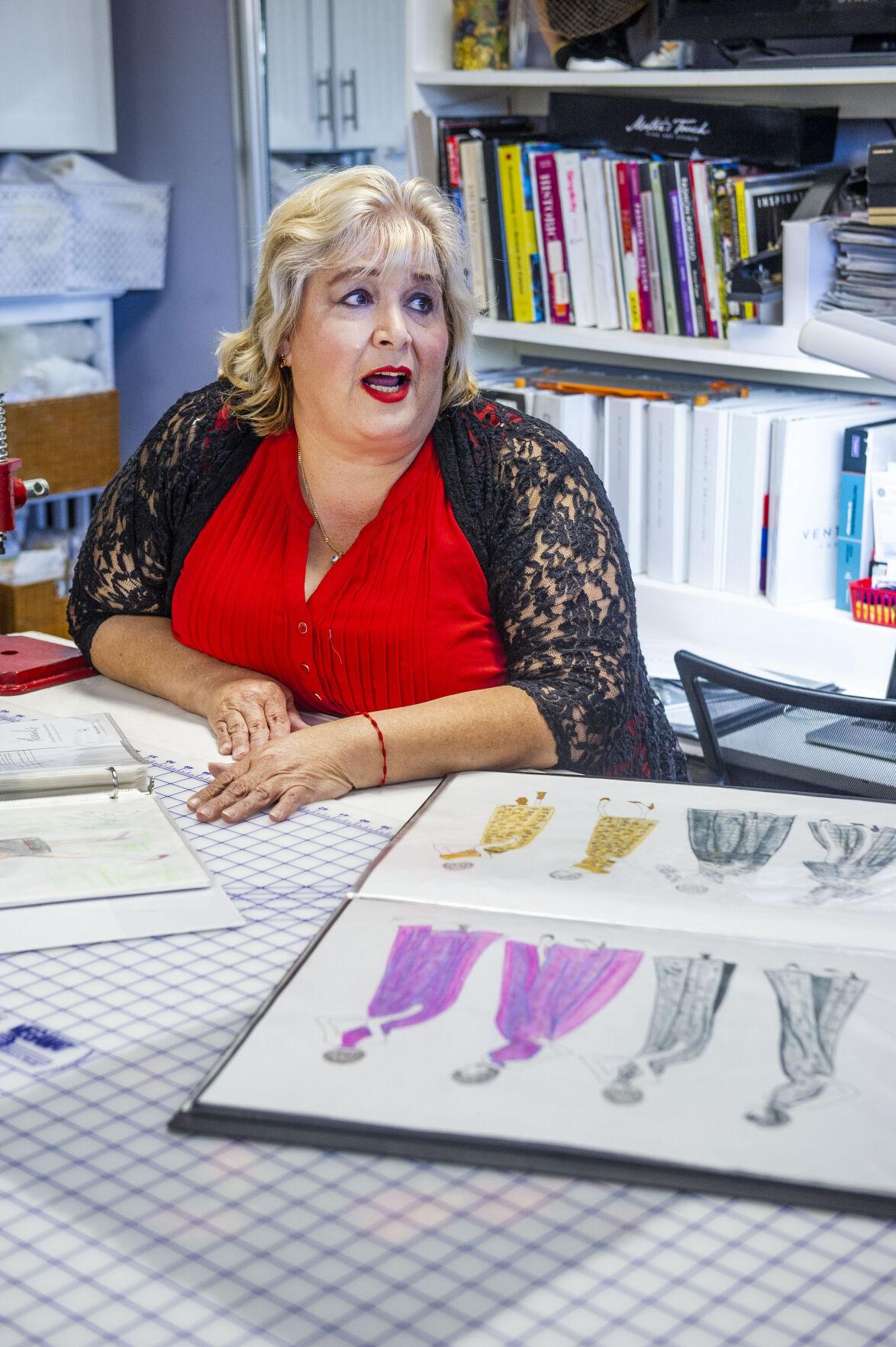 Venturini Couture sketches