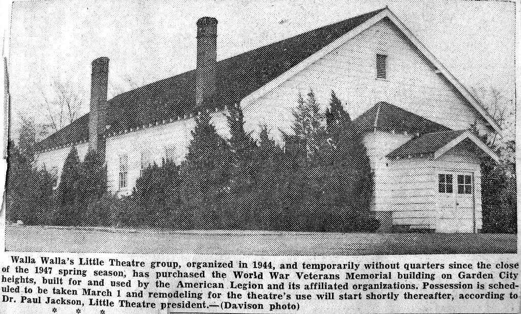 American Legion Building - Little Theatre