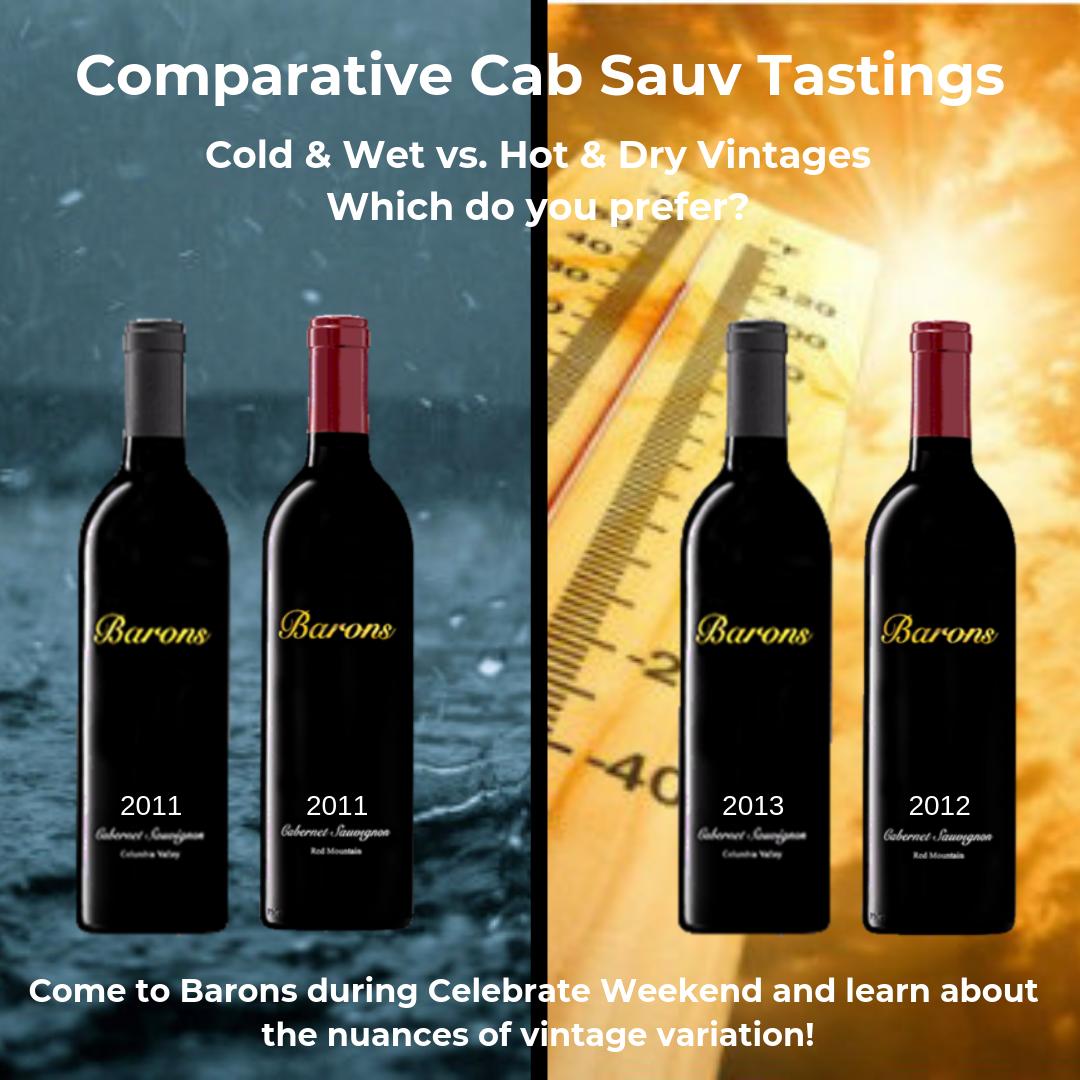 Comparative Cabernet Sauvignon Tastings