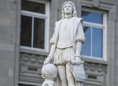 Walla Walla County's Christopher Columbus statue