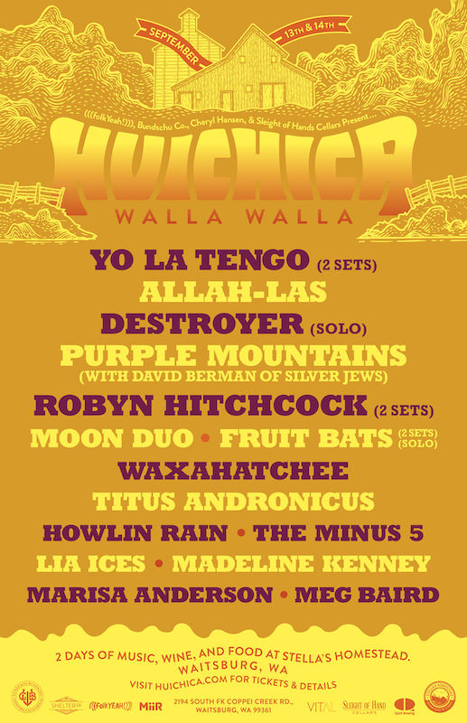 Promotional Poster with Lineup