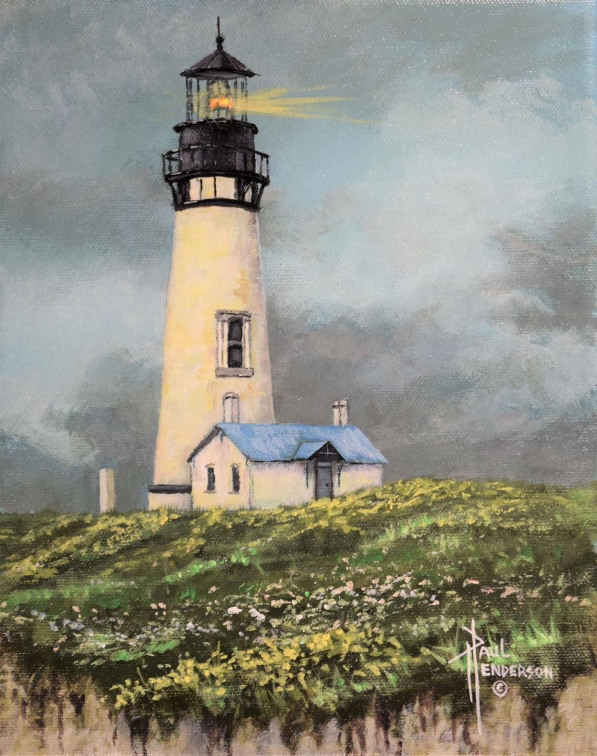 Yaquina Head Lighthouse by Paul Henderson