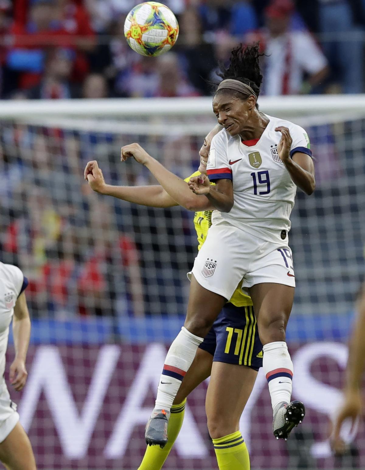 France Sweden US WWCup Soccer