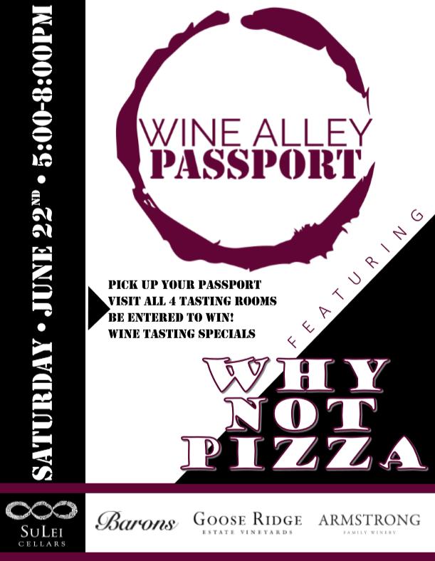 Wine Alley Passport