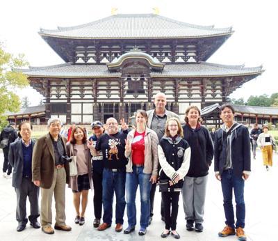 WW group visits sister city at Sasayama, Japan