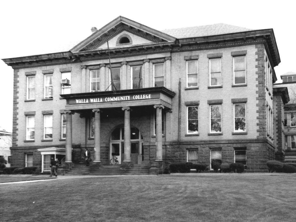 WWCC in its first home on South Park Street