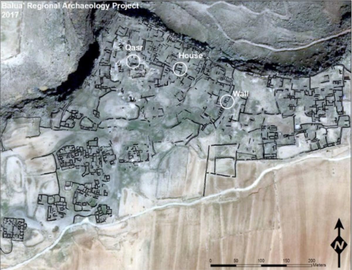 Moabite town of Balua