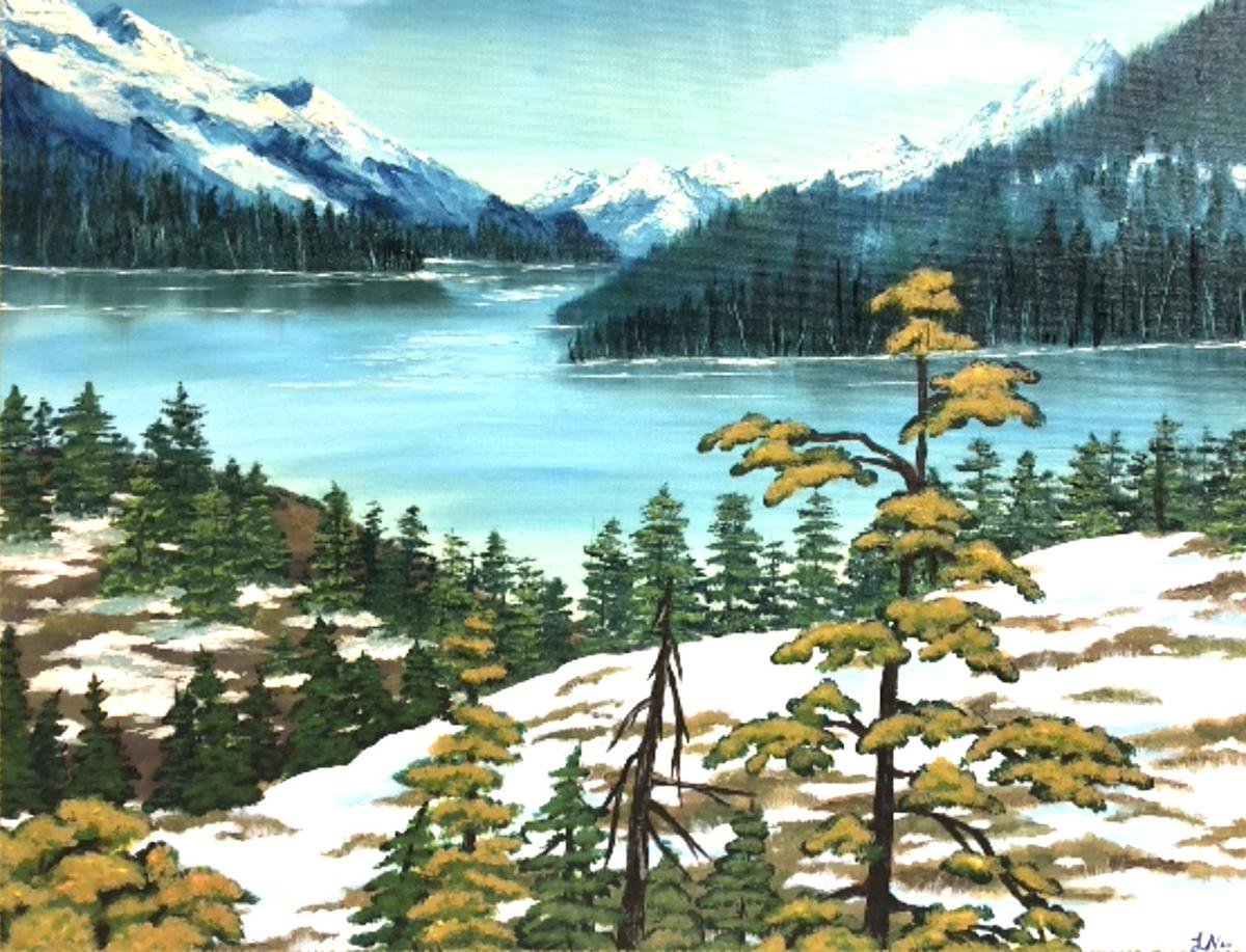 200603_etc_lake_Alaska in oil and acrylic by Laurie Nichols.jpg