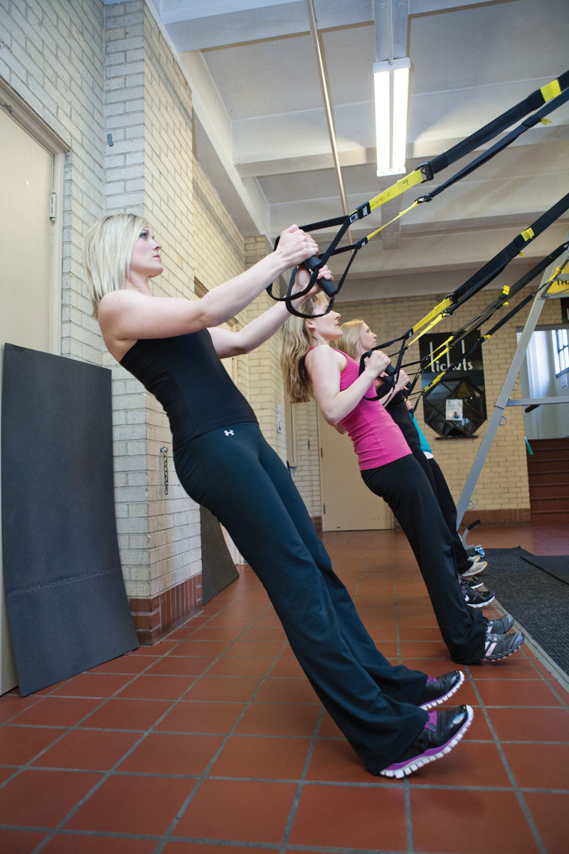 TRX arm workout