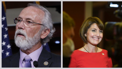 From Left, Dan Newhouse, R-Sunnyside, and Rep. Cathy McMorris Rodgers, R-Spokane