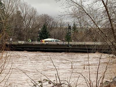 Touchet River in Dayton