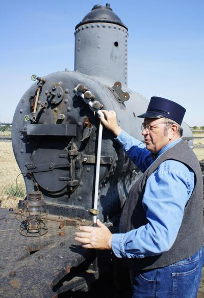 Museum's Living History presentation features local assistant railroad conductor