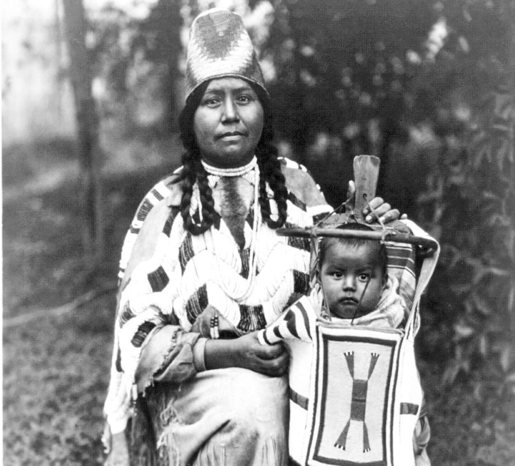 Cayuse woman c. 1910