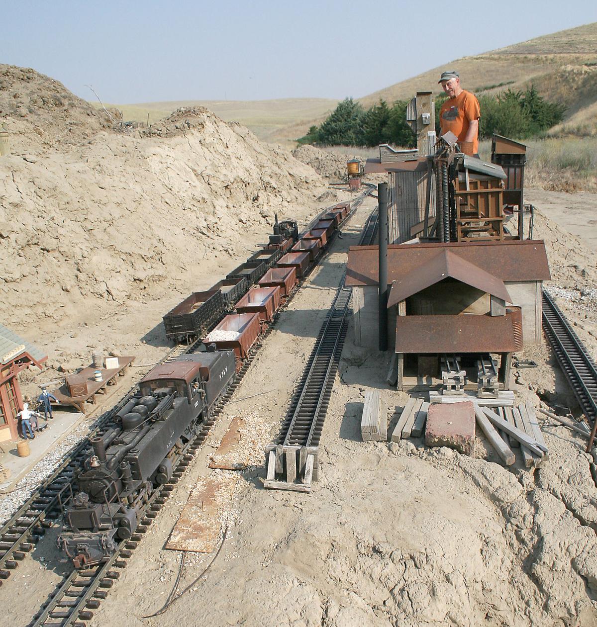 Rooms: Walla Walla County Farmer Dreams Big With Model Railroad