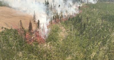 Green Ridge Fire retardant line