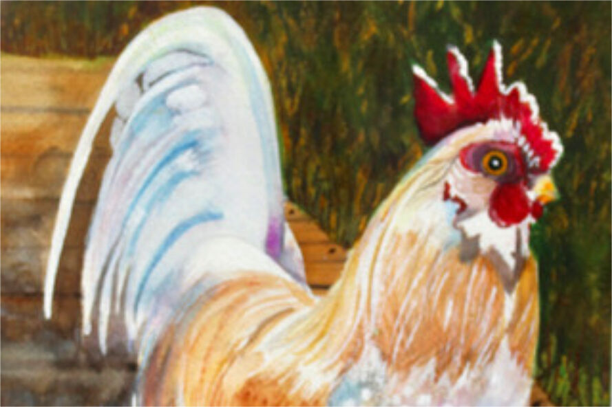 """""""Banty Rooster,"""" by Michele Smith"""