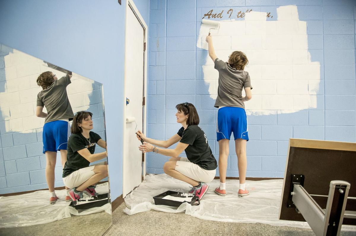Painting at Willow Public School