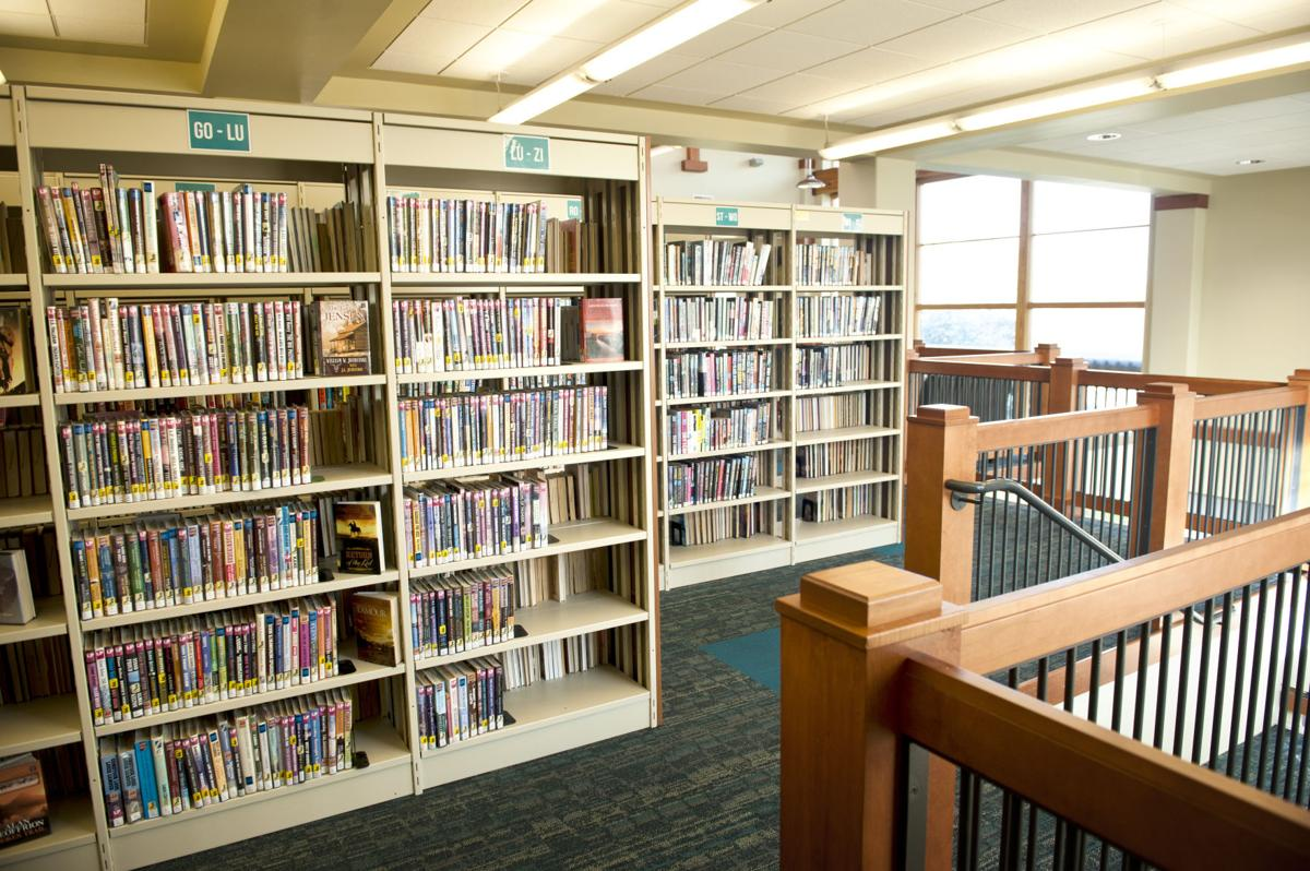In the stacks at Milton-Freewater Public Library