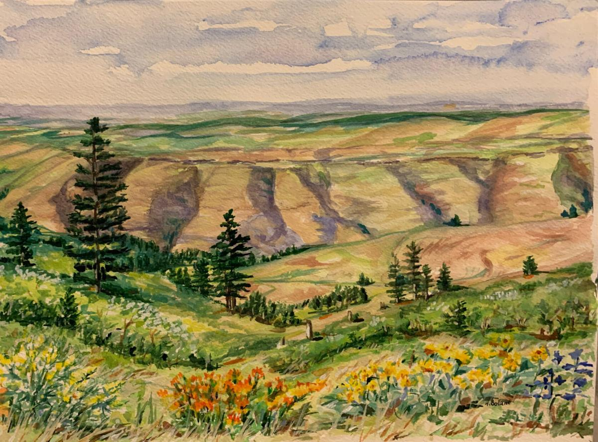 """""""Canyon View,"""" by Helen Boland"""