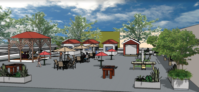 Freewater Square rendering
