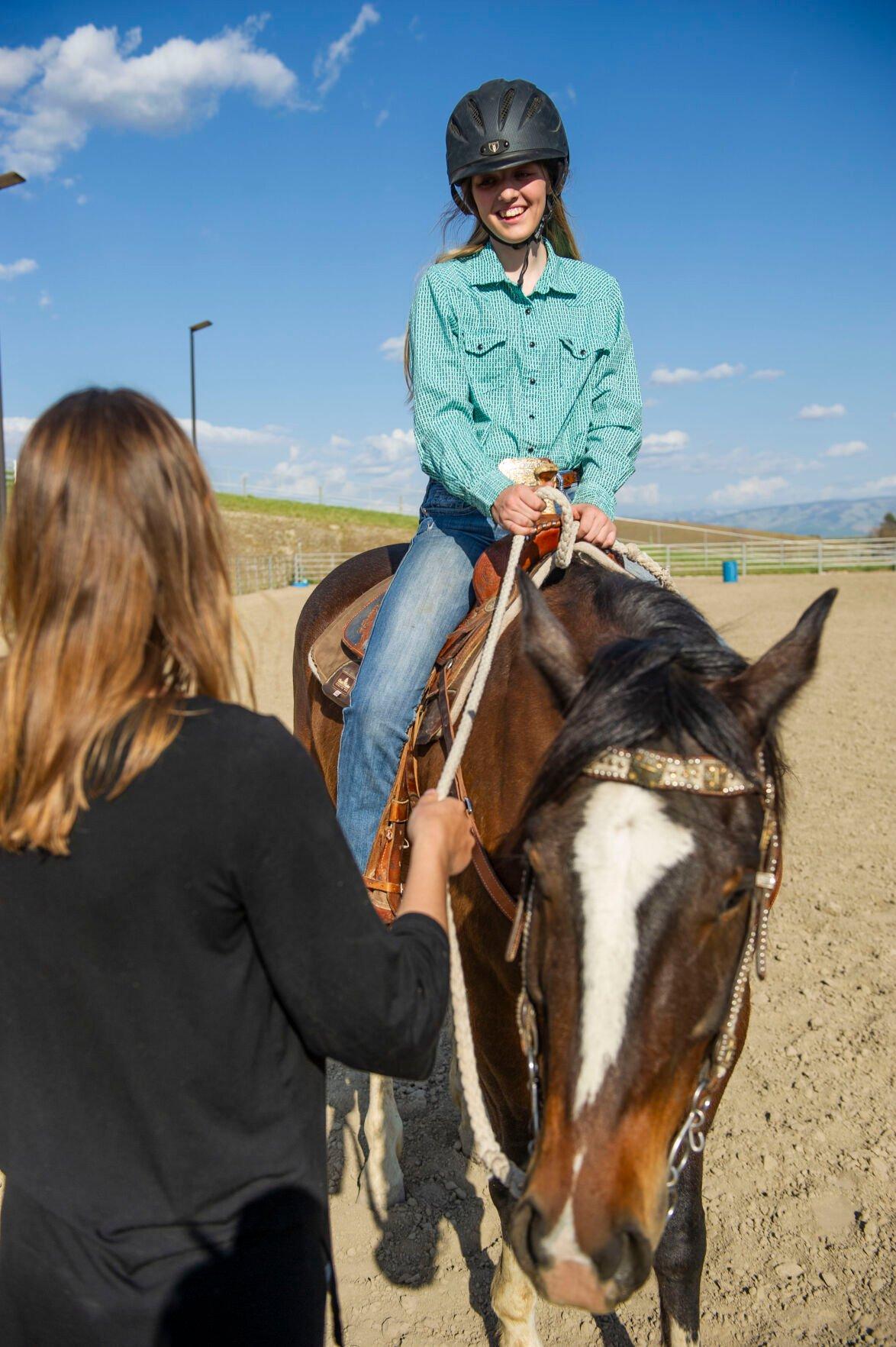 Riding Instructor Nicole Kallstrom